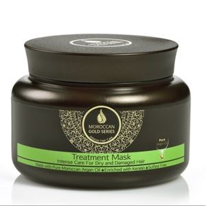 Moroccan Gold Series Treatment Mask New In Box